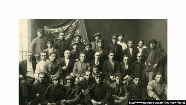 Группа первых переселенцев из Винницы