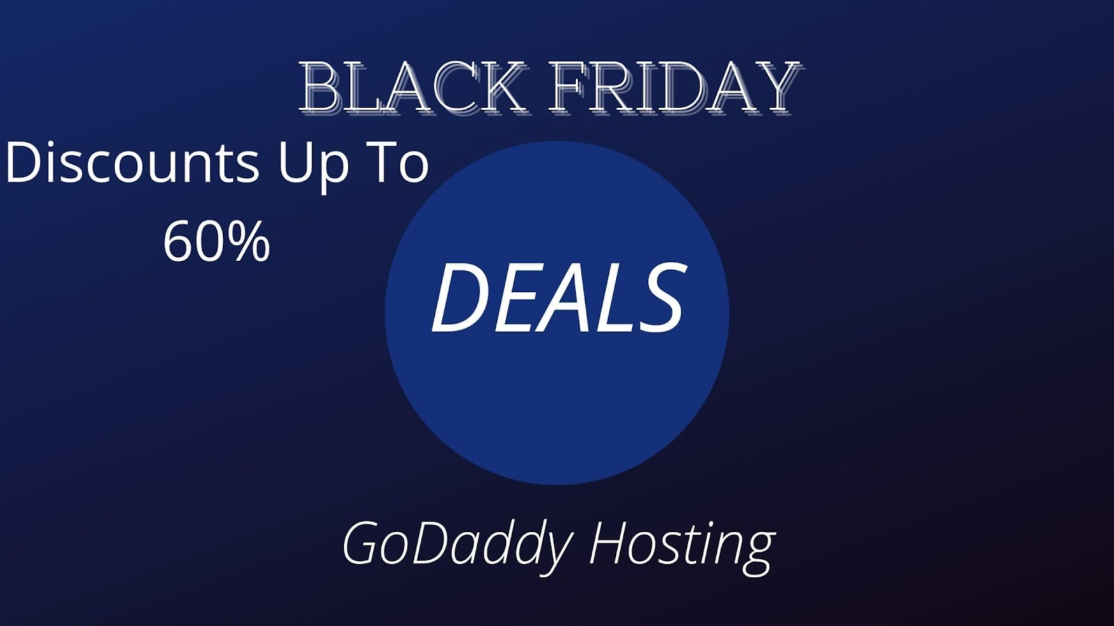 GoDaddy: Discounts Up To 60%