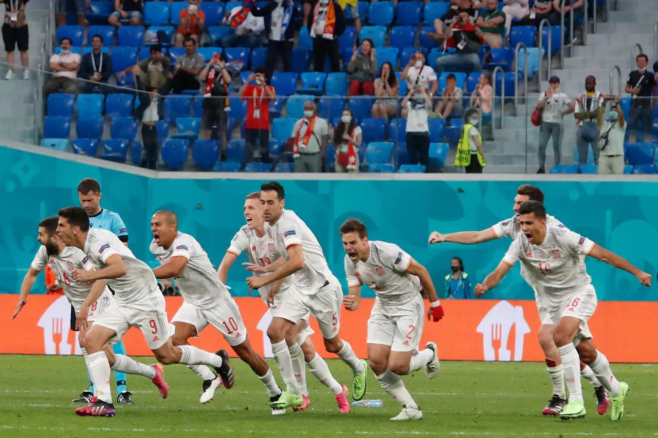 Tây Ban Nha chỉ vượt qua Thụy Sĩ sau loạt sút luân lưu