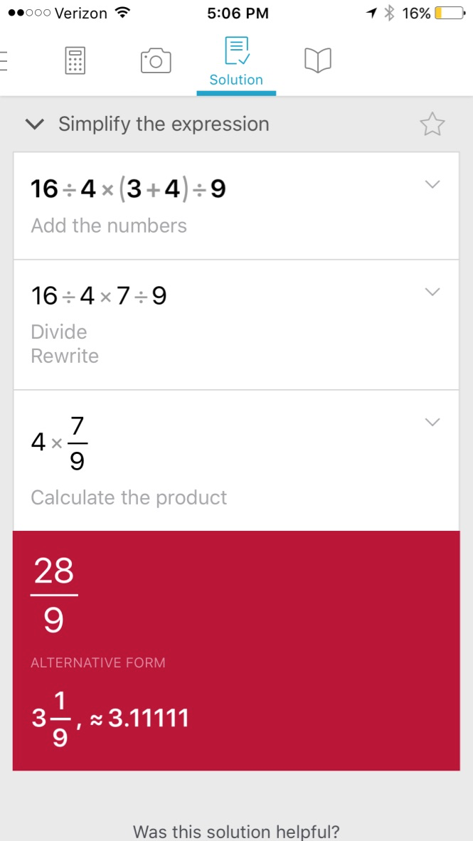 PhotoMath and ModMath: Best FREE Apps for Struggling Math Students