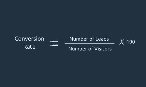Formula for Conversion Rate