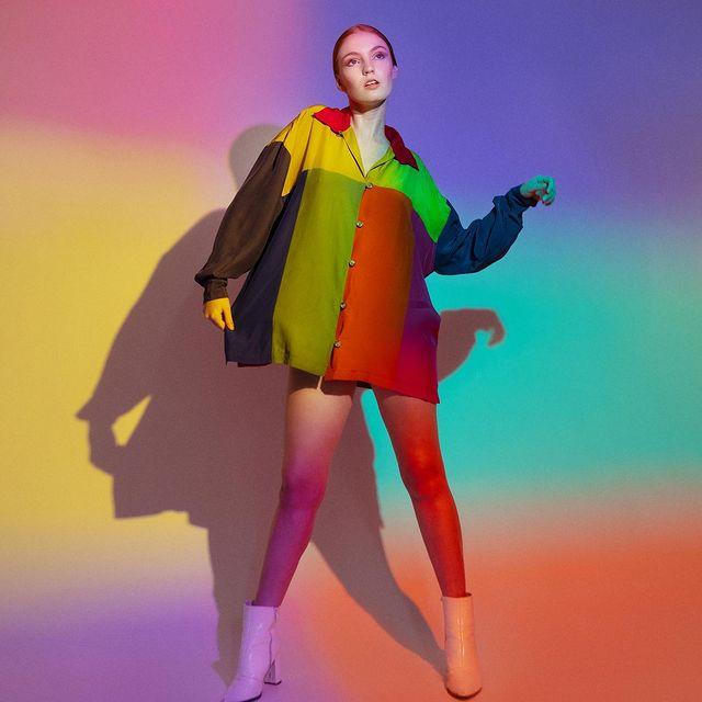 Multicolor 🌈 @esodette Hair & Makeup by @kimberlydistel