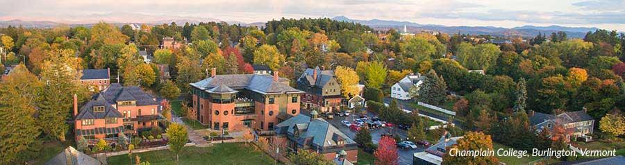 Champlain College Campus, Burlington, Vermont