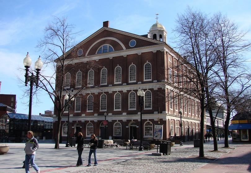 Os principais pontos turisticos dos estados unidos da América - Faneuil Hall