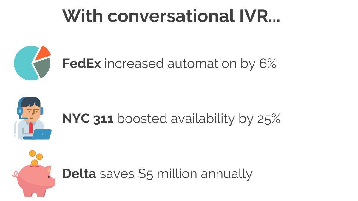 conversational IVR services