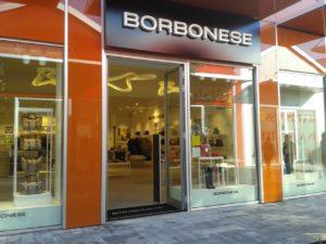 installazione antitaccheggio negozio Borbonese scalo Milano