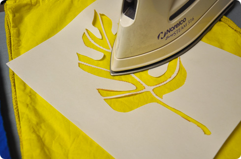 how to make stencils for clothing