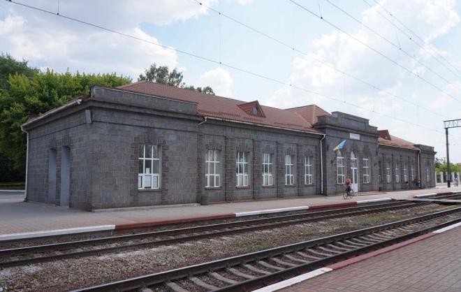 Станція Гнівань Південно-Західної залізниці