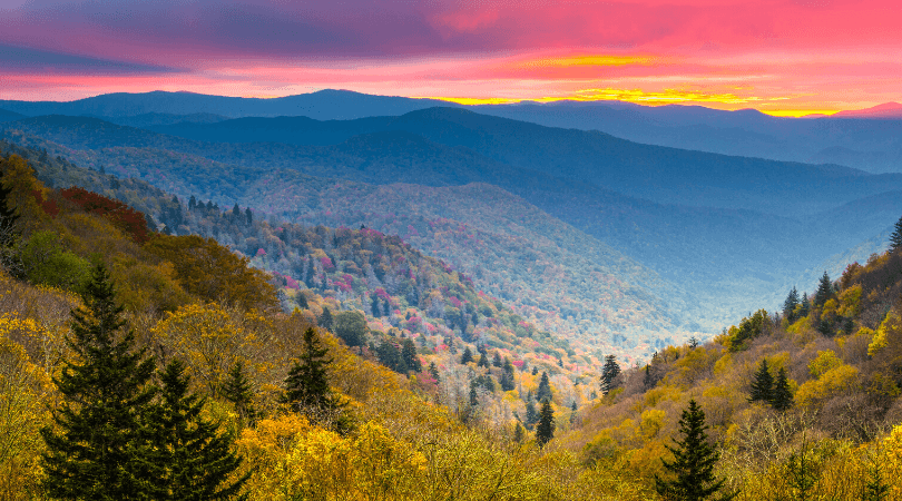 The Prettiest Views in the Great Smoky Mountains