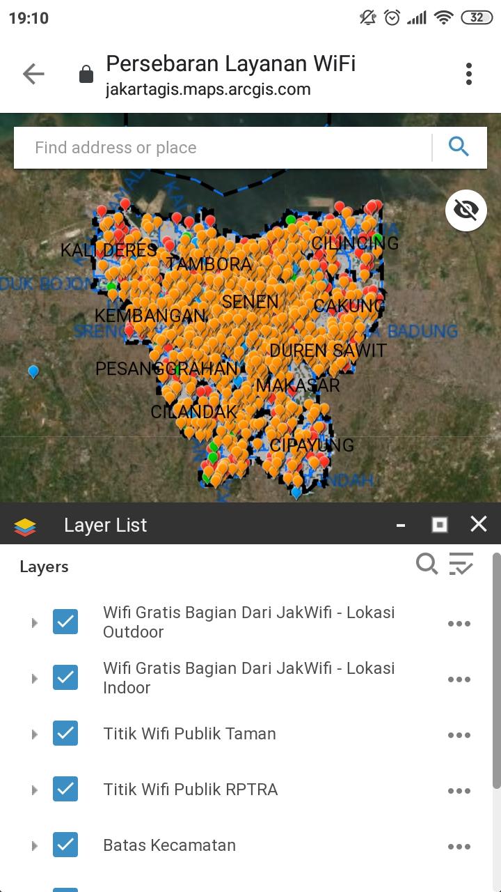 JakWifi, JSC, Jakarta, Jakarta Smart City