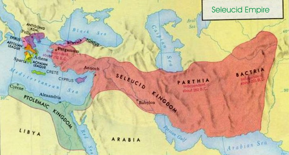 Image result for seleucid kingdom