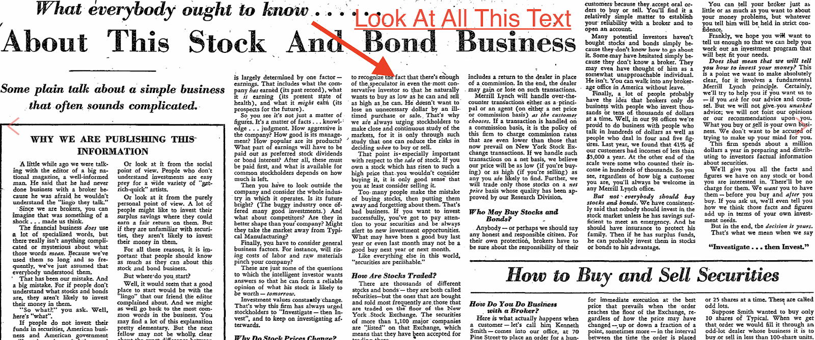 An-advertisement-talking-about-stocks-and-bonds
