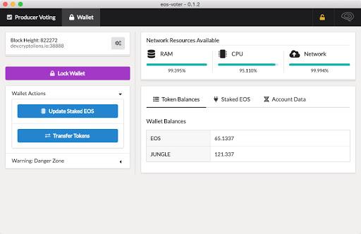 GreyMass Wallet Interface