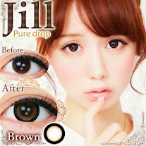 Jill (ジル)Pure drop ブラウン度あり&度なしカラコンブラウン茶コン 商品画像
