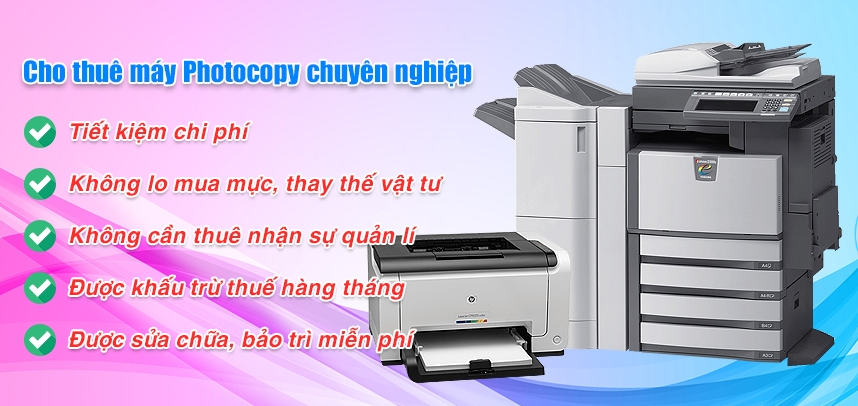 Cách tìm kiếm đơn vị cung ứng dịch vụ cho thuê máy photocopy giá rẻ
