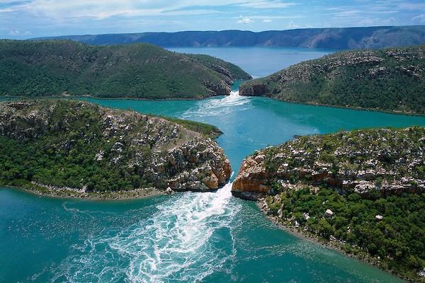 Horizontal Falls - Waterfalls in Western Australia