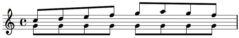 oblique motion harmony how to harmonize