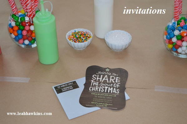 cookie party invitations