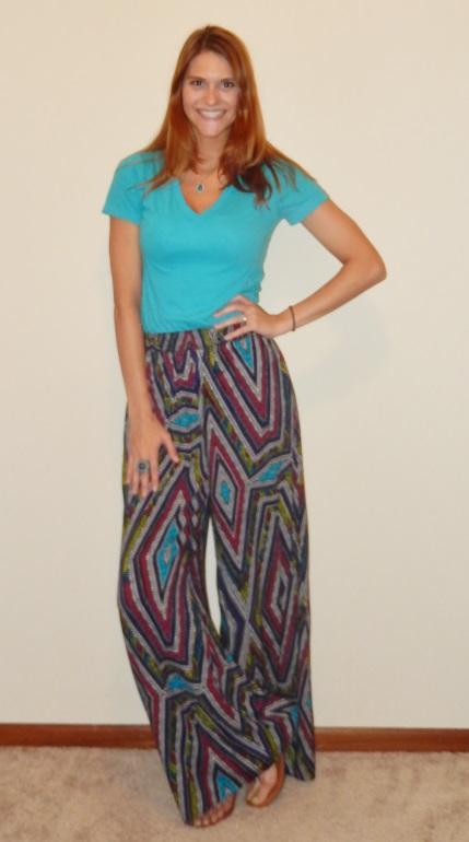 Young Professionals Printed Pants Weekend