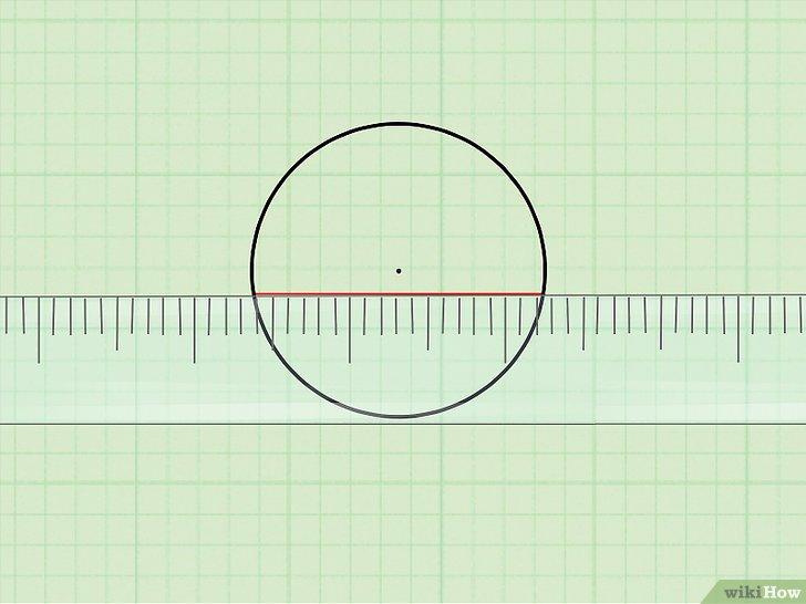 горизонтальная линия внутри круга