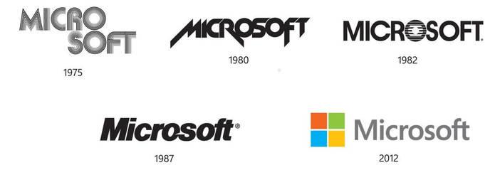 Lịch sử logo Microsoft