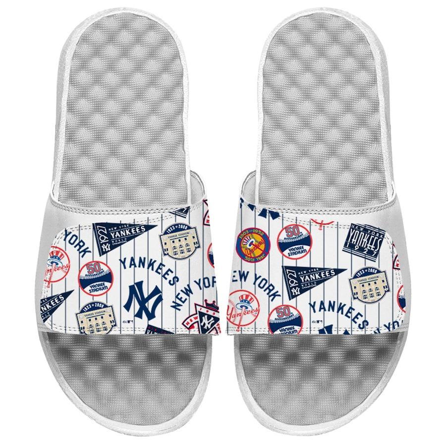 baseball mother's day gift idea - MLB baseball flip flops and sandals