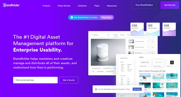 brand folder digital asset management system