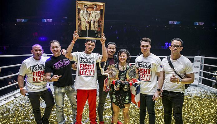 Stamp Fairtex Plans To Keep ONE Atomweight Muay Thai World Title In Thailand -