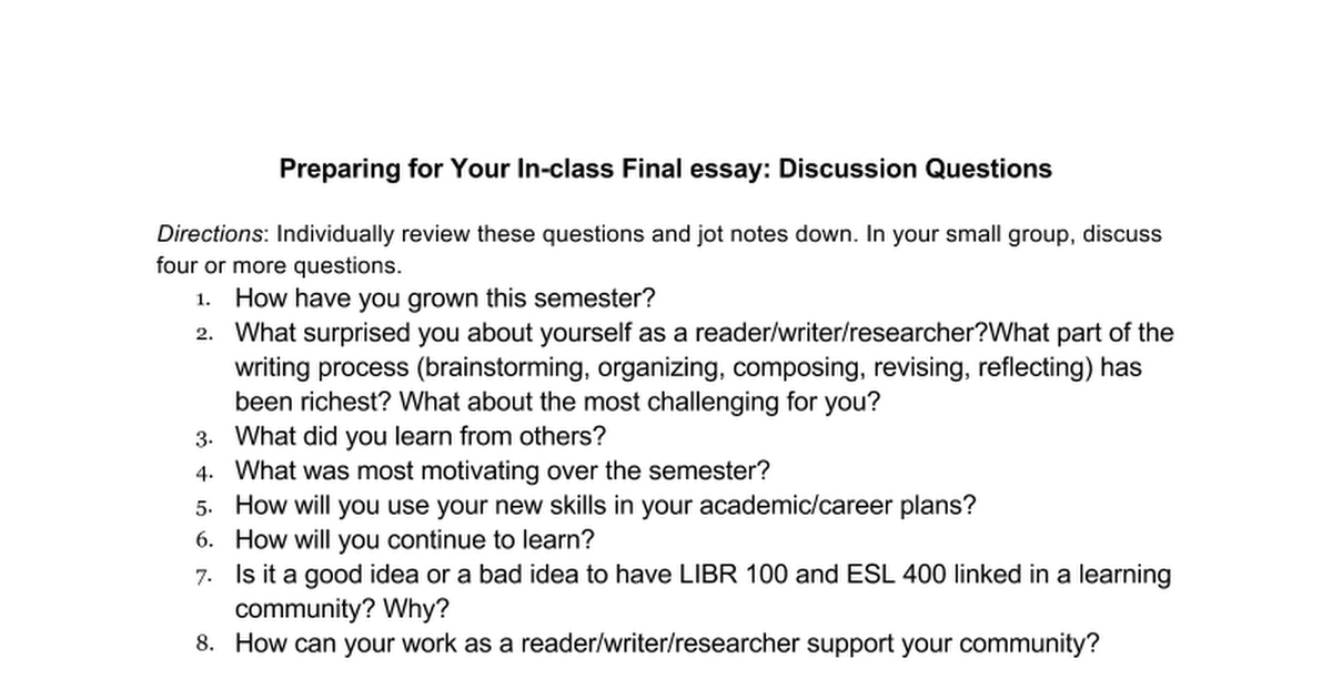 final reflective essay Final exam: reflective essay when i first signed up for food for thought, i did so not really knowing what i was getting myself into i picked it because i needed a non-business class elective and i just genuinely like food and cooking so i thought it would be a perfect fit.