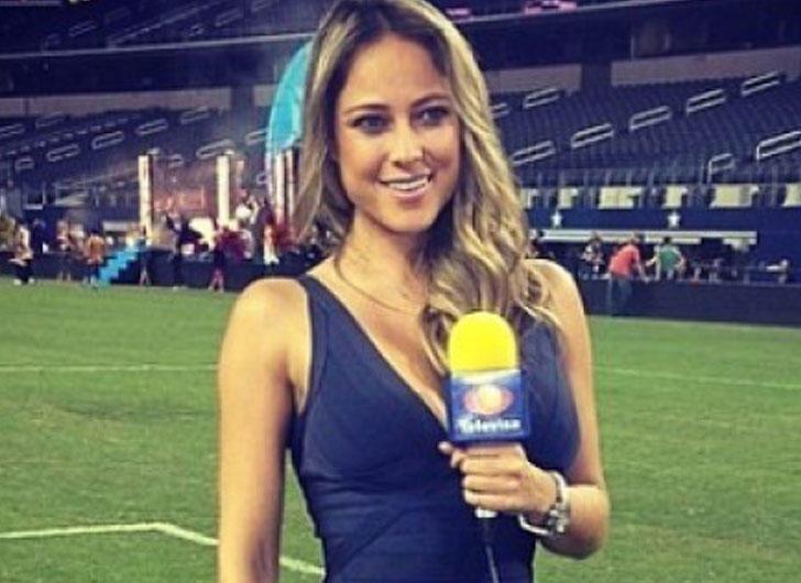 Vanessa Huppenkothen from Televisa Deportes