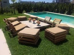 Pallet Garden Seating Furniture | Pallet Furniture Plans