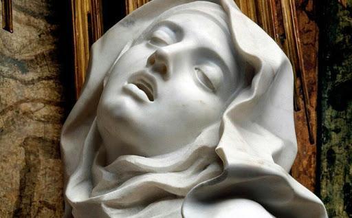 """Quante cose ci racconta il Bernini con la sua """"Estasi di santa ..."""
