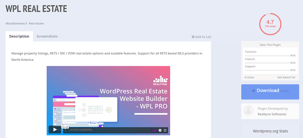 plugin wpl state para sites de imobiliaria no wordpress
