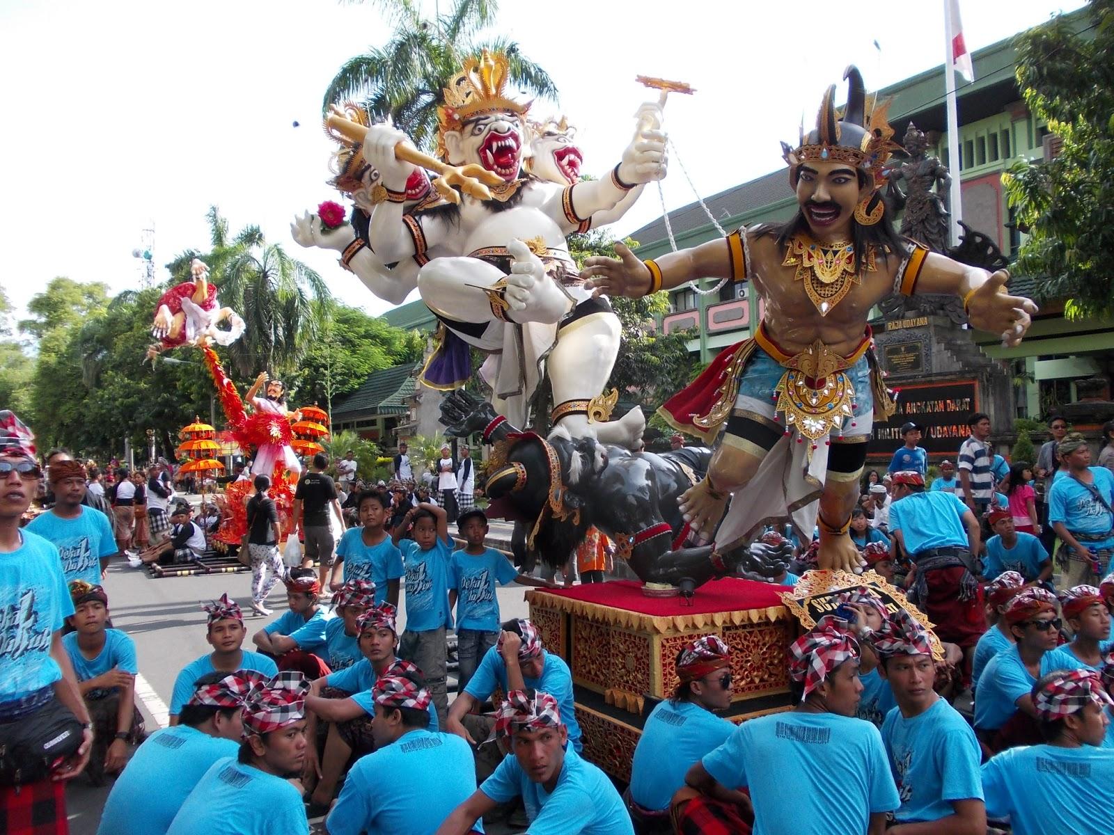 Ogoh-Ogoh Parade in Bali
