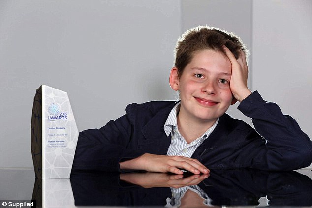 Meet the Australian whizz kid, 12, who's already created five apps and caught the eyes of Facebook and Apple – and he won't let his autism stand in his way