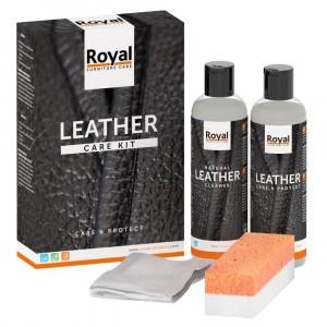 Oranje Furniture Leather Care Kit - Care & Protect 2x250ml