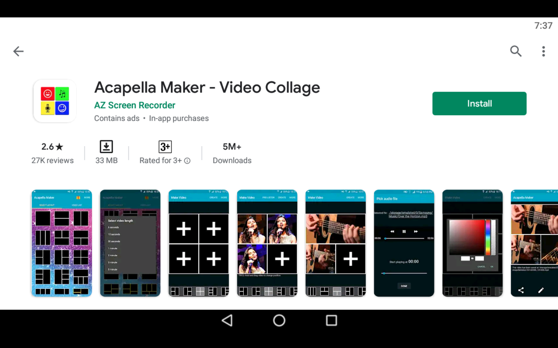 Acapella Maker App on PC
