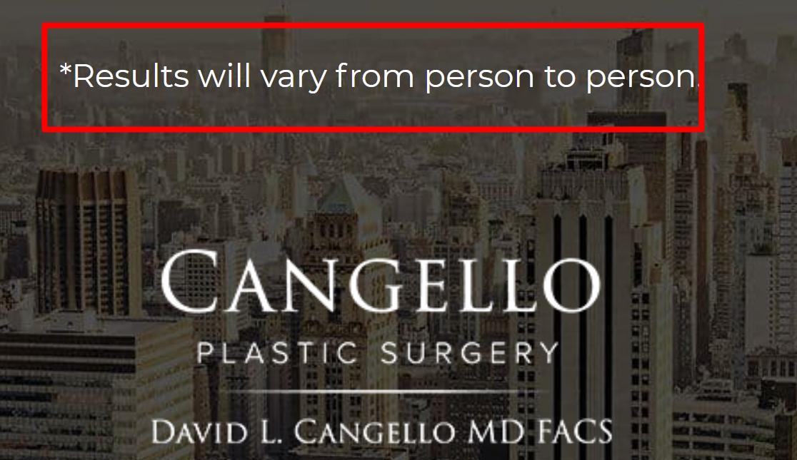 David L. Cangello, MD, FACS review