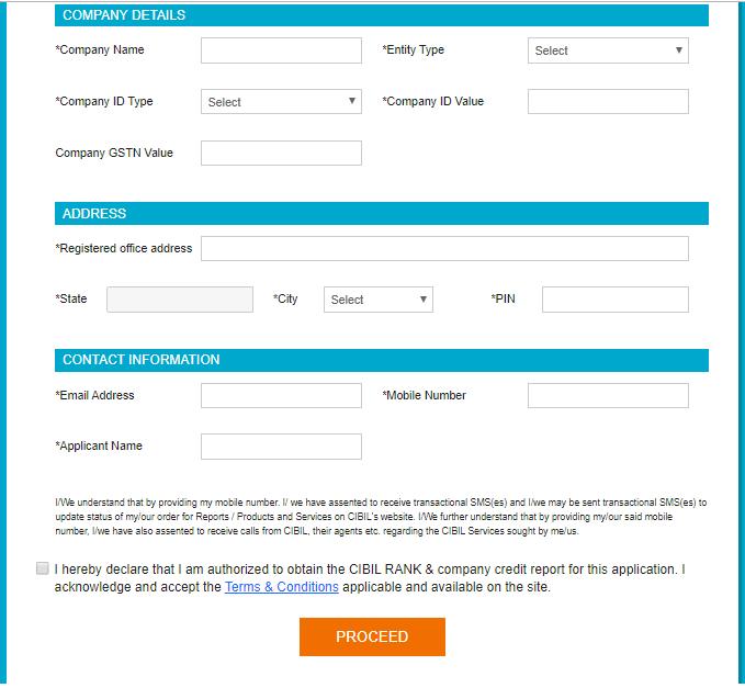 CIBIL Registration Process Details- quikkloan