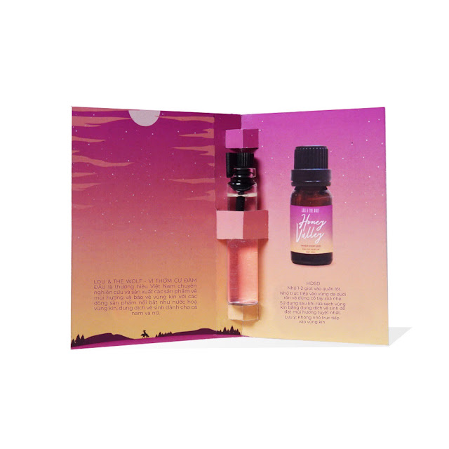 Nước hoa vùng kín nữ - Honey Valley Eau De Parfum