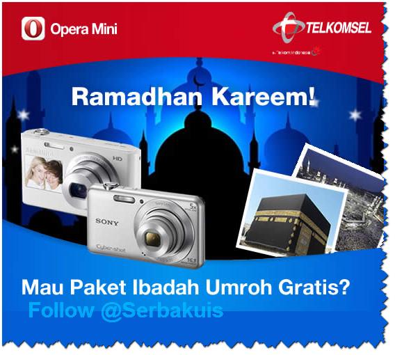 Promo Berhadiah Umroh dan Kamera Digital