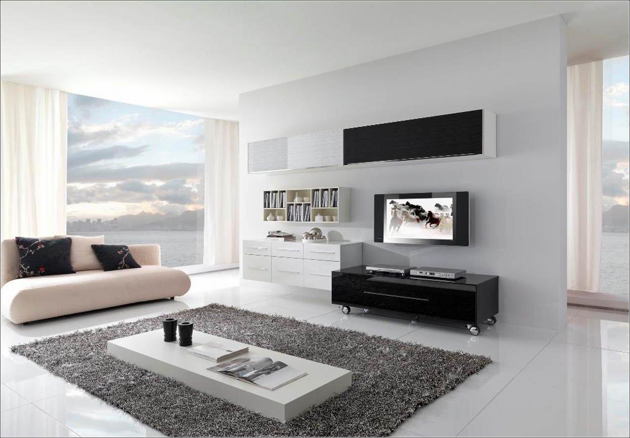 Desain Furnitur Minimalis untuk Ruang Tamu - source: www.homedizz.com