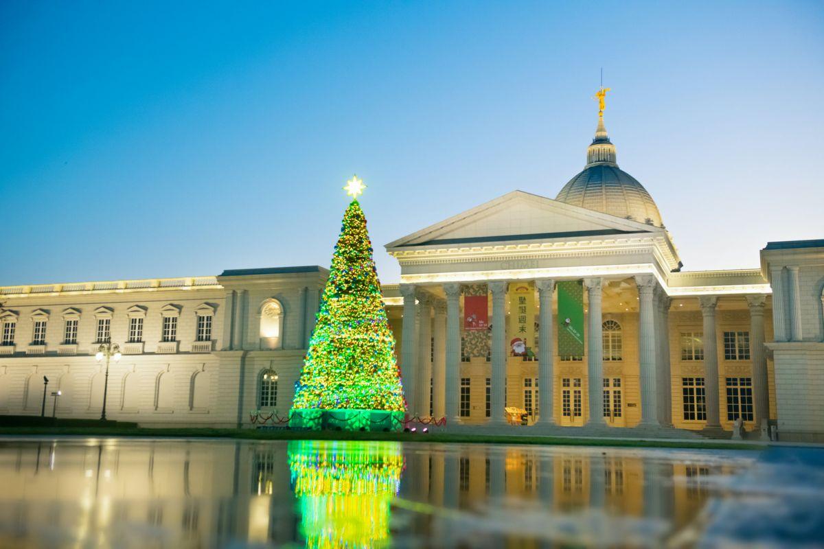 2020聖誕節 活動 景點 奇美博物館 聖誕市集