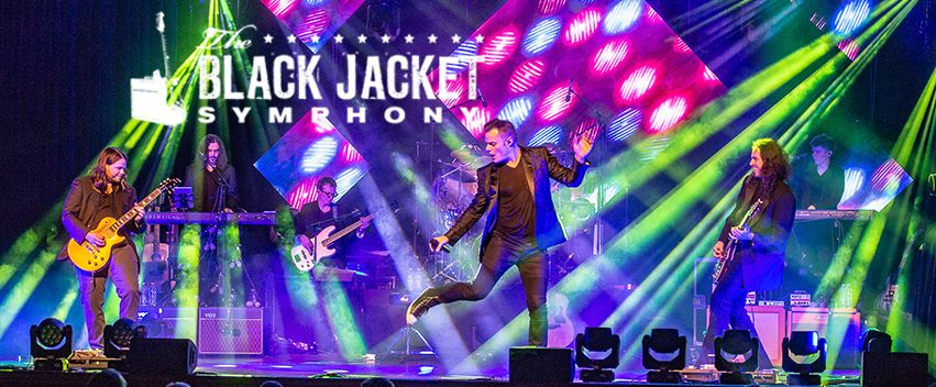 Black Jacket Symphony will take to the stage Saturday, May 11 following end of day play, which they estimate to be around 5 PM.