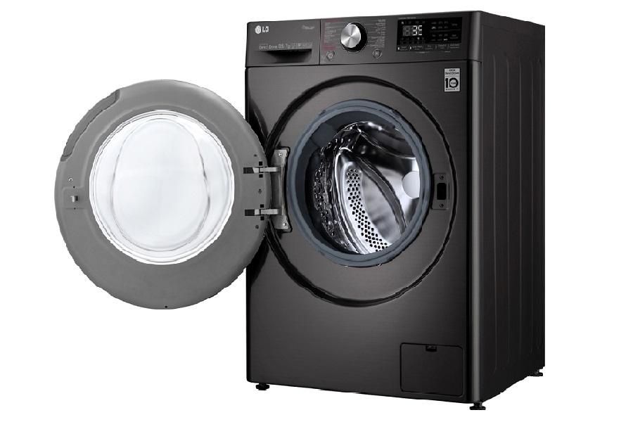 Máy giặt sấy LG Inverter 10.5 kg FV1450H2B áp dụng công nghệ LG Steam+ giảm nhăn hiệu quả