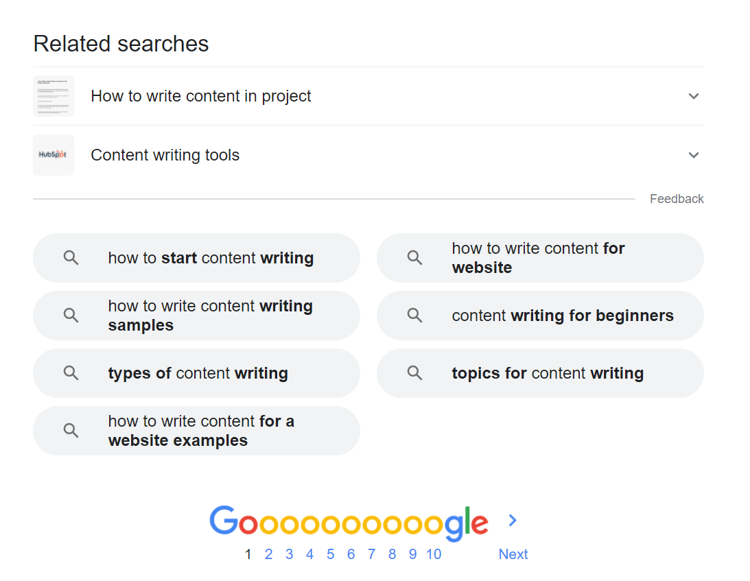 how to deal with creative block Bottom of the search page results