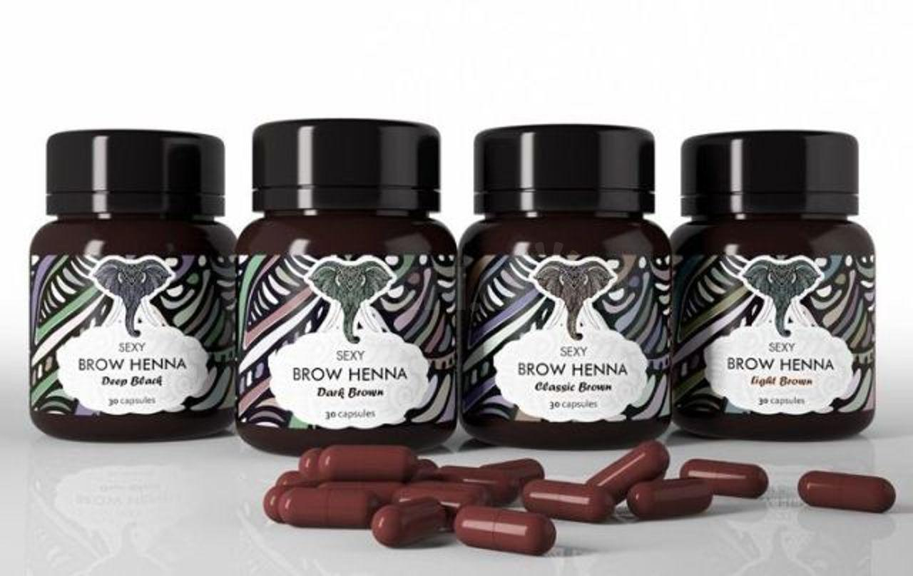 Хна для бровей Sexy Brow Henna - 700 руб. Медицина, красота и здоровье.  Декоративная и лечебная косметика. Декоративная и лечебная косметика в  Южно-Сахалинске. Объявления Сахалина