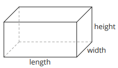 Cross-section of a cuboid