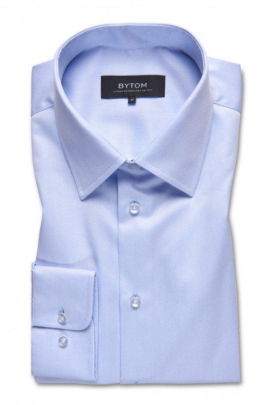 Jasnobłękitna gładka koszula marki Bytom
