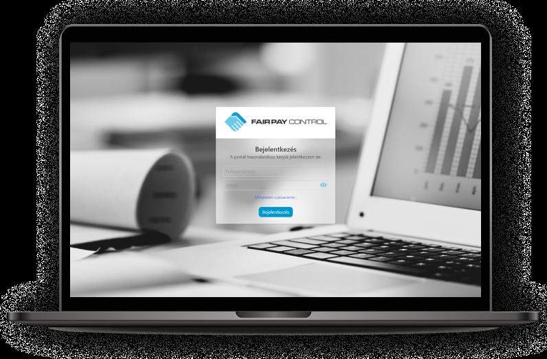 Egyedi webfejlesztés a kintlévőség csökkentésért - Fair Pay Control